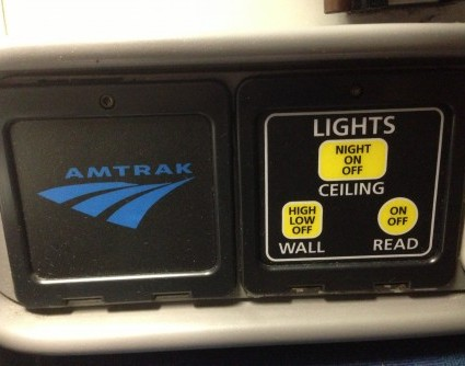Roomette Light Controls