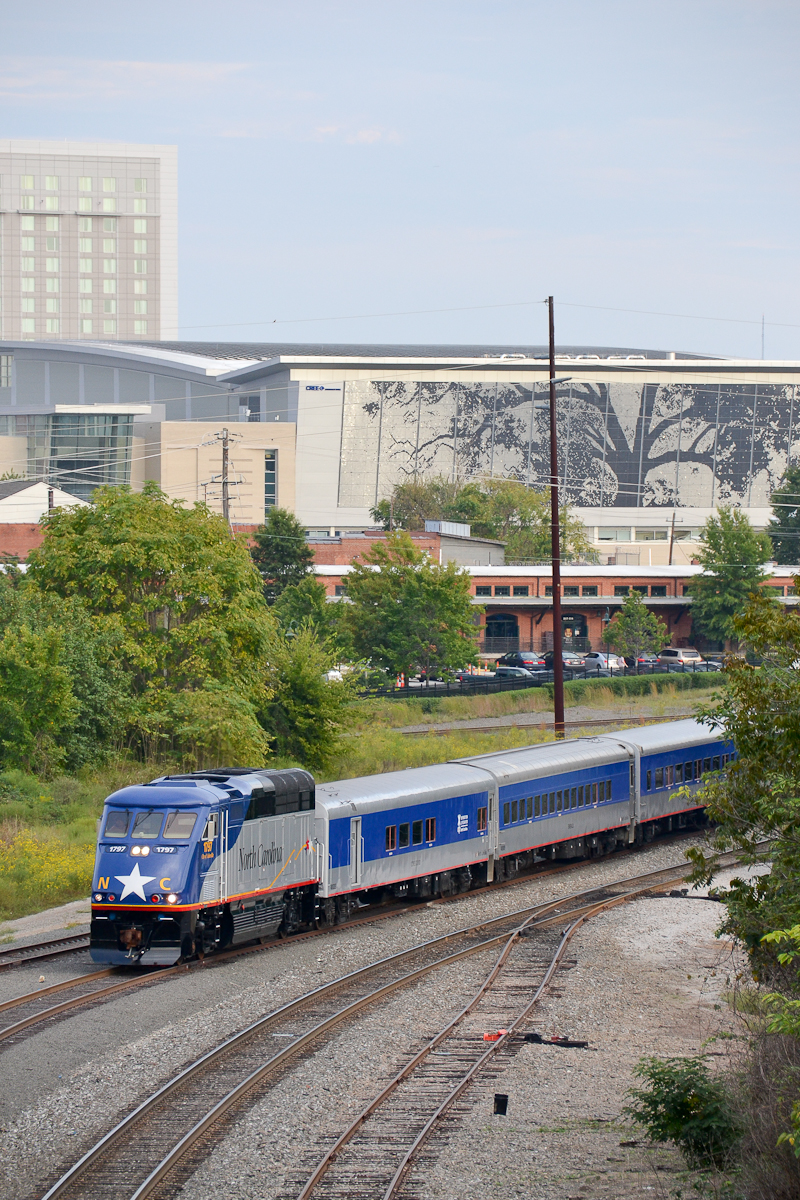 Raleigh with Train