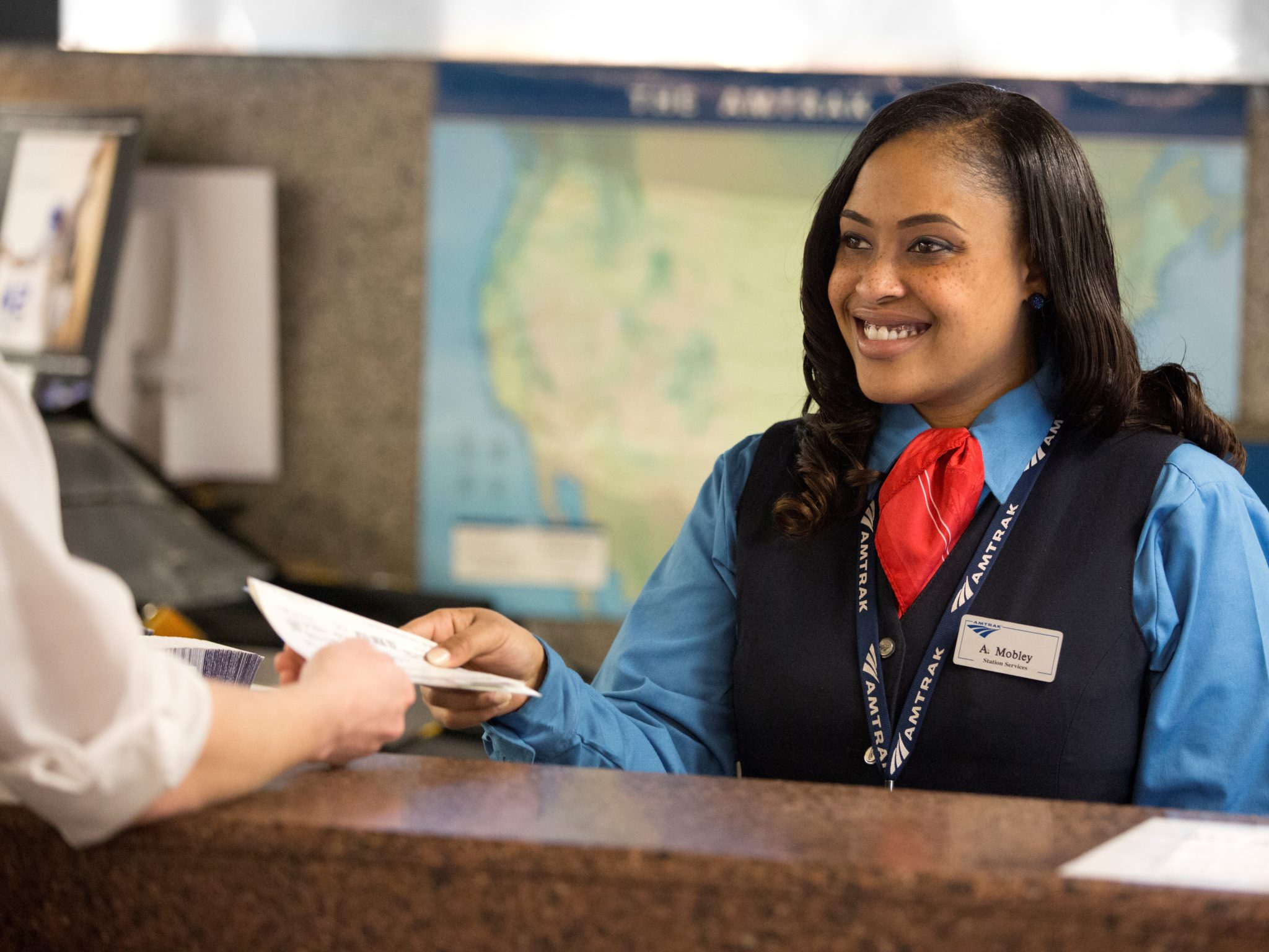 Amtrak Ticket Agent