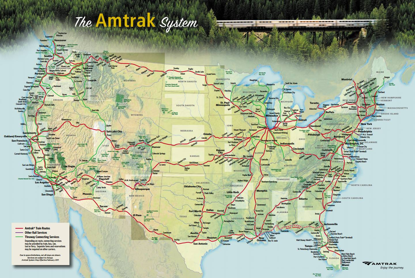 Reasons to Ride Amtrak